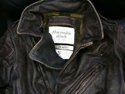 Abercrombie And Fitch Leather Bikers Jackets Nwt Authentic Items