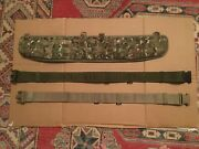 Mtp Hip Pad Osprey And Belt Genuine British Army Working Belt Molle Large
