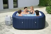 Bestway Inflatable Hot Tub Spa Pool 60022e With Filter Cartridgeandpump And Cover Us