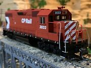 Ho Scale Athearn Gp38-2 Dcc W/ Sound Cp Rails Canadian Pacific Rail Detailed New