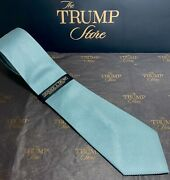 President Donald J Trump Signature Collection Tie -gold Bar -new With Tags