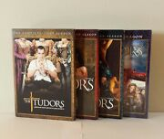 The Tudors Complete Dvd Series Seasons 1-4. Like New And In Excellent Condition.