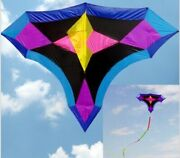 Large Flying Drawing Kite Rainbow Windsock Bar Kite For Adults Free Shipping