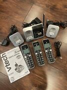 Vtech Atandt Cordless Phone With Answering System All Works Full Set