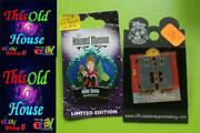 Disney Pins X2 Halloween Haunted Mansion Le 2009 And 2006 Twilight Zone Tower Terr