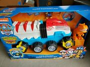 Paw Patrol, Dino Rescue Dino Patroller Motorized Team Vehicle With Exclusive T.