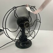 """Antique Emerson B-jr 1931 Electric 10"""" Oscillating One Speed Fan Working C Video"""