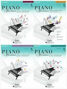 New Piano Adventures Level 3a Set Of 4 Lesson Books Theory Technique Practice