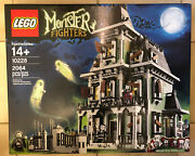 Nib Lego Monster Fighters Haunted House 10228 Brand New Sealed In Box