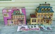 Playmobil Vintage 5300 Furnished Victorian Mansion 100 Complete W/ Box And Book