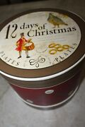 Williams Sonoma 12 Days Of Christmas Salad Plates -complete Collector Set 2010