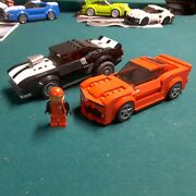 Lego 75874 Speed Champions Camaro Drag Race Cars And Figure As Shown