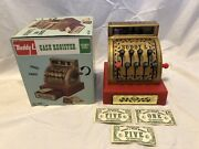 Vintage 1976 Buddy L Old Fashioned Cash Register Toy W Box Great Shape And Works