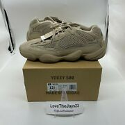Brand New Adidas Yeezy 500 Taupe Light Size 12.5 Deadstock With Box