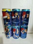 Rare China Pepsi Cola Blue Storm Can Empty Of 6