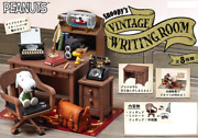 Snoopy's Vintage Writing Room All 8 Types Set Re-ment New From Japan F/s