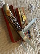 Vintage Camillus 26 Large Two Blade Sword Brand Knife With Box 100th Yr