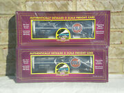 Sealed 2-pack Mth Premier Gulf Oil Tank Cars  New/mint
