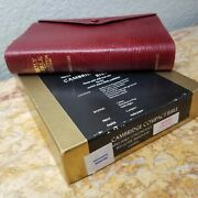 Kjv Cambridge Compact Reference Bible Red Calfskin Leather Red Ltr Mint L@@k🌟