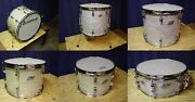 Vintage Ludwig White Marine Pearl Drumset 60and039s/70and039s Wmp Pre-serial/b/o Badge
