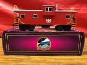 Mth 91340 O Gauge Bessemer And Lake Erie 2010 Extended Vision Lighted Caboose