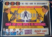 Man From Uncle One Of Our Spies Is Missing 1966 Original Uk Quad Poster