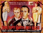 The Spy With My Face Man From Uncle 1965 Uk Quad Poster 30 X 40