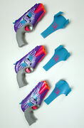 Rare Nerf Rebelle 4victory Lot With Holsters