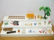 Playmobil Farm Accessories Horse Ranch Grooming Tools Oil Service Set 4190 Parts