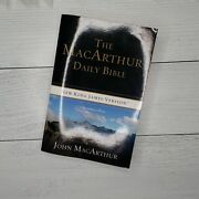 The Macarthur Daily Bible New King James Signature Series Read Bible One Year
