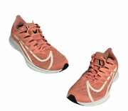 Nike Womens Zoom Rival Fly Cd7287-601 Coral White Running Shoes Lace Up Size 6.5