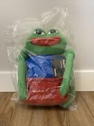 Pepe The Frog Plush - Hashtag Collectibles - Uncute - Matt Furie