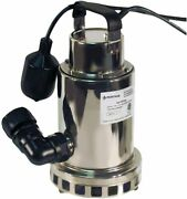 Pentair Pcd-1000 Submersible Utility Sump Pump Stainless Drainer 115v 0.75 Hp