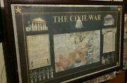 The Civil War Limited Edition 273/950 Historical Autographed Picture  Rare