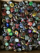 500 Used Beer Soda Bottle Top Caps Man Cave Or Crafts Project
