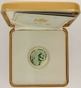 2001 150 Dollar 18kt Gold Coin With Hologram Year Of The Snake