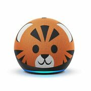 Echo Dot 4th Gen Kids Edition With Parental Controls Tiger