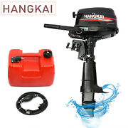 6.5hp 4 Stroke Outboard Motor Marine Boat Engine Water Cooling High Performance
