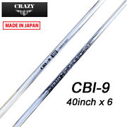 2021 Crazy Golf Japan Cbi-9 For Iron And Wedge 40in Graphite Shaft Set Of 6