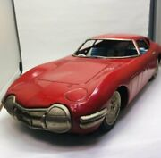 Asahi Toy Atc Japanese-made Tin At The Time Toyota 2000gt1960 Approximately 40