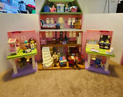 Fisher Price Loving Family Grand Mansion Dollhouse Loaded With Accessories