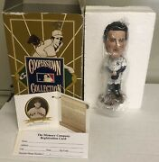 2002 Westland Giftware Lou Gehrig Cooperstown Collection Bobble Head W/certs/box