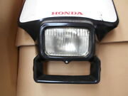 Out-of-print Scrapped Old Honda Xlr125r Genuine Front Light Cowl Rare Jd16