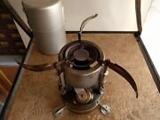 U.s. Military Rogers M-1950 Single Burner Stove W/ Case - 1966 On Stove And Case