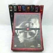 The X-files Complete Seasons 1-9 Chinese Version Collectors Edition 62 Dvd's