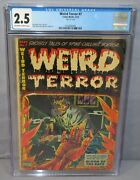 Weird Terror 7 Classic Don Heck Body In Oven Cover Cgc 2.5 Gd+ Comic Media 1953