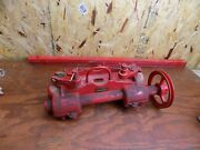 Nos Antique Dempster Pump Jack Water Well Pump Gas Engine Never Used Windmill