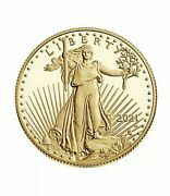 2021-w 1/2 American Eagle One-half Ounce Gold Proof Coin 21ecntype 2 Confirmed
