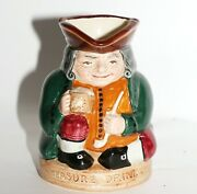 Vintage Royal Doulton Toby Jug And039honest Measureand039 D 6108 Made In England