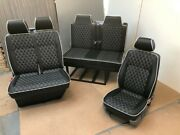 Mercedes Sprinter Rock And Roll Bed With Seatbelts Gas Strut And 2+1 Front Seat Set